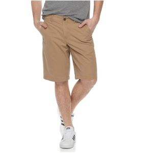 {URBAN PIPELINE} Ultimate Twill Flat-Front Shorts